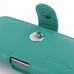 iPhone 5 5s Leather Holster Case (Aqua) top quality leather case by PDair