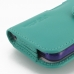 iPhone 5 5s (in Slim Cover) Holster Case (Aqua) protective carrying case by PDair
