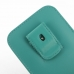 iPhone 6 6s Plus (in Slim Cover) Pouch Clip Case (Aqua) top quality leather case by PDair