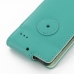 Motorola Razr i Leather Flip Case (Aqua) protective carrying case by PDair