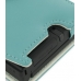 Nintendo Dsi Leather Flip Cover (Aqua) genuine leather case by PDair