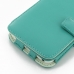Samsung Galaxy S WiFi 5.0 Leather Flip Cover (Aqua) offers worldwide free shipping by PDair