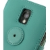 Samsung Galaxy S2 Epic Leather Flip Cover (Aqua) protective carrying case by PDair