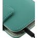 Samsung Galaxy S2 Epic Leather Flip Cover (Aqua) handmade leather case by PDair