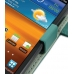 Samsung Galaxy S2 Epic Leather Flip Cover (Aqua) top quality leather case by PDair