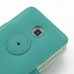 Samsung Galaxy Player 4.2 Leather Flip Cover (Aqua) protective carrying case by PDair