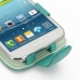 Samsung Galaxy Win Duos Leather Flip Case (Aqua) genuine leather case by PDair