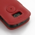 Acer Liquid E1 Leather Flip Cover (Red) protective carrying case by PDair