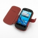 Acer Liquid E1 Leather Flip Cover (Red) top quality leather case by PDair