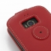 Acer Liquid E1 Leather Flip Top Case (Red) protective carrying case by PDair