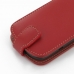 Acer Liquid E1 Leather Flip Top Case (Red) custom degsined carrying case by PDair