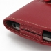 BlackBerry Classic Leather Holster Case (Red) protective carrying case by PDair