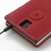BlackBerry Passport Leather Flip Cover (Red) protective carrying case by PDair