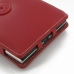 BlackBerry Passport Leather Flip Cover (Red) handmade leather case by PDair
