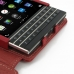 BlackBerry Passport Leather Flip Cover (Red) genuine leather case by PDair