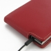 BlackBerry Passport Leather Flip Case (Red) protective carrying case by PDair