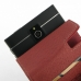 BlackBerry Passport Leather Flip Case (Red) genuine leather case by PDair