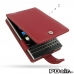 BlackBerry Passport Leather Flip Case (Red) best cellphone case by PDair