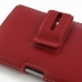 BlackBerry Passport Pouch Leather Holster Case (Red) handmade leather case by PDair