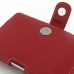 BlackBerry Passport Pouch Leather Holster Case (Red) genuine leather case by PDair