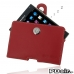 BlackBerry Passport Pouch Leather Holster Case (Red) best cellphone case by PDair