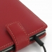 BlackBerry Passport Leather Flip Top Case (Red) protective carrying case by PDair