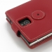BlackBerry Passport Leather Flip Top Case (Red) handmade leather case by PDair