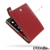 BlackBerry Passport Leather Flip Top Case (Red) best cellphone case by PDair