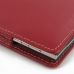 BlackBerry Passport Pouch Leather Sleeve Pouch Case (Red) protective carrying case by PDair