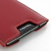 BlackBerry Passport Pouch Leather Sleeve (Red) protective carrying case by PDair