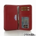 LG G3 Leather Wallet Sleeve Case (Red) offers worldwide free shipping by PDair