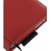 HP Slate 500 Tablet PC Leather Folio Stand Case (Red) handmade leather case by PDair