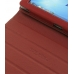 HP Slate 500 Tablet PC Leather Folio Stand Case (Red) custom degsined carrying case by PDair