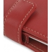 HTC Hero Leather Flip Cover (Red) handmade leather case by PDair