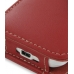 HTC Hero Leather Flip Cover (Red) top quality leather case by PDair