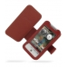 HTC Hero Leather Flip Cover (Red) offers worldwide free shipping by PDair