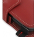 Sprint HTC Touch Pro2 Leather Flip Cover (Red) handmade leather case by PDair