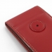 Huawei Ascend P6 Leather Flip Case (Red) protective carrying case by PDair