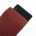 Huawei Ascend P6 Leather Flip Case (Red) handmade leather case by PDair