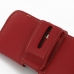iPhone 5 5s Leather Holster Case (Red) genuine leather case by PDair