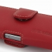 iPhone 5 5s Leather Holster Case (Red) top quality leather case by PDair