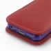 iPhone 5 5s (in Slim Cover) Pouch Case (Red) handmade leather case by PDair