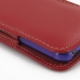 iPhone 5 5s (in Slim Cover) Pouch Case (Red) genuine leather case by PDair