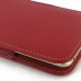 iPhone 6 6s Plus Leather Sleeve Pouch Case (Red) protective carrying case by PDair
