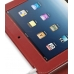 iPad 3G Leather Flip Carry Cover (Red) handmade leather case by PDair