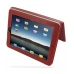 iPad 3G Leather Flip Carry Cover (Red) top quality leather case by PDair