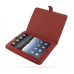 iPad 3G Leather Flip Carry Cover (Red) offers worldwide free shipping by PDair