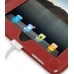iPad 3G Leather Book Stand Case (Red) Ver.3 protective carrying case by PDair