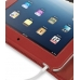 iPad 3G Leather Book Stand Case (Red) Ver.3 handmade leather case by PDair