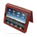 iPad 3G Leather Book Stand Case (Red) Ver.3 top quality leather case by PDair